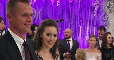 Фото с венчания Тарасова и Костенко