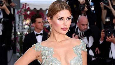 Виктория Боня появилась на открытии Каннского кинофестиваля в «голом» платье