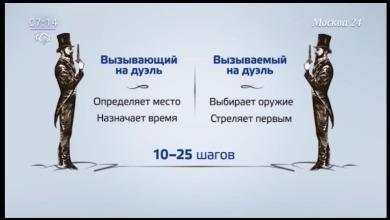 В Россию могут вернуться дуэли