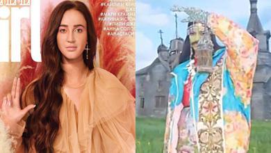 Бузову в образе святой и фотосессию в глянцевом журнале расценили как насмешку