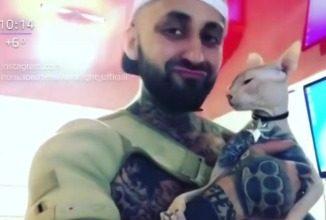 Татуированный кот из Екатеринбурга стал звездой интернета