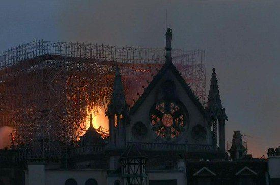 Собчак, Боня и Бородина про пожар в соборе Парижской Богоматери