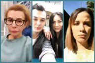 Анна Брянская, Катя Токарева, Ирина Агибалова в Прямом эфире