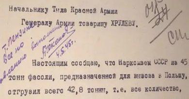 Минобороны рассекретило документы о помощи СССР Польше в годы войны