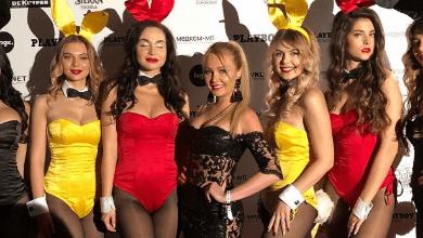 Дарья Пынзарь снялась вместе моделями Playboy