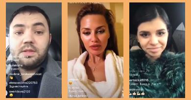Саша Гобозов, Вика Боня, Алиана Гобозова в Прямом эфире