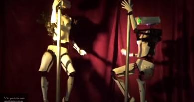 На выставке CES в Лас-Вегасе покажут роботов-стриптизеров