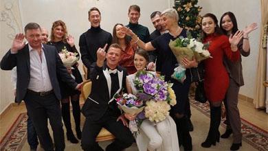 Дмитрий Тарасов и Анастасия Костенко официально стали мужем и женой