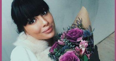 31-летняя Нелли Ермолаева родила первенца