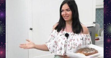Сашу Гобозова на Острове встретили тортом с селедкой
