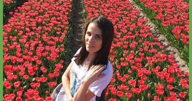 Екатерина Токарева отдыхает в Голландии